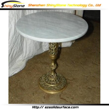 Masterpiece modern restaurant solid surface wood carved dining room tables