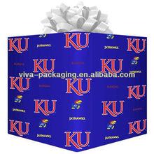 Kansas Jayhawks Logo Gift Wrap Paper - Royal Blue
