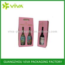 Printed Packing wine bottle carton box