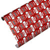 Nebraska Cornhuskers Spirit Block Wrapping Paper