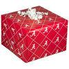 Alabama Crimson Tide Crimson Gift Wrap Paper