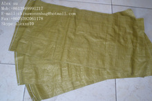 Amarelo pp sacos de tecido / barato amarelo sacos / sacos pp 50 kg