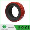 forklift polyurethane driving wheel china supplier forklift part caster wheel