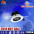 6w indoorlight led luzes de teto comercial downlight montagem