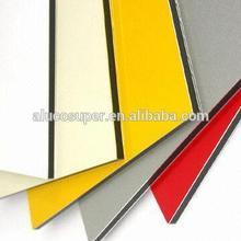 Alucosuper Ral 9010 Aluminum Composite Panel for cladding