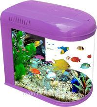 fashion glass bullet aquarium fish tank for guppy fish, betta fish,toy fish