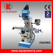 ZX6350Z Horizontal Vertical Milling Machine Milling Equipment Operation