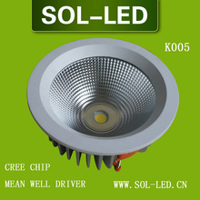 Cree COB 50W LED Downlight Mean well Driver
