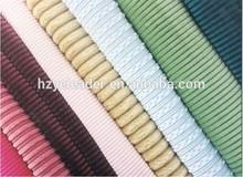 2014 New Fashion Polyester corduroy for sofa fabric