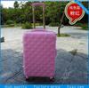 Lady travel bag set upright luggage suitcase drawbar case box