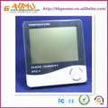 Htc-1 dijital lcd termometre ve higrometre, sıcaklık ve nem duvar ekran monte, araba termometre saat