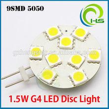 4 x G4 LED Light bulbs 6 x 5050 SMD & 12w LED Driver 12v dc Cool White 6000k,G4 LED Light bulbs