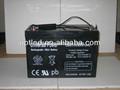 12v 100ah agm batteria al piombo per ups