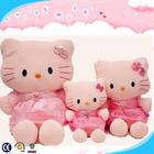 Cute pink hello kitty plush toy,hello kitty slippers,wholesale hello kitty toys