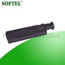 SOFTEL high quality FOM-400 mono microscope for optic fiber inspection