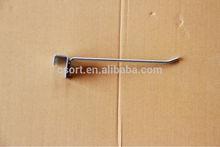 metal beam hook for tube bar