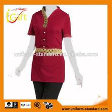 low price wholesale women fashion foot bath uniform