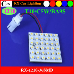 15months Warranty and less than 1% defective rate 1210 36smd high bright led car interior dome led