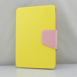 Candy Color Flip Cover Leather Case For ipad mini 1/2
