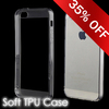 Hot Sale soft tpu clear case crystal back cover for iphone 5