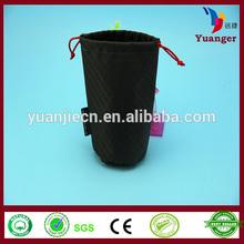 HS Codes Pyramid Tea Food Packaging Tote Foldable Mesh Fabric Nylon Bag