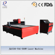 YAG metal tube sheet cutter machine with laser source