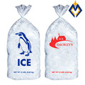 ct 100 8 lb saco plástico de polietileno sacos de gelo