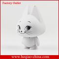diseño precioso gato altavoz bluetooth como día de los niños de regalo