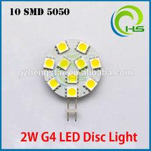 G4 10 SMD LED Planar Disc Lamp Our Most popular G4 Lamp 10-30V DC,led smd g4 bulb