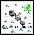 condensador electrolítico de aluminio 35v 47uf para alta densidad de circuitos consumado
