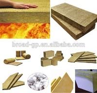 Fireproof insulation 80kg/m3 rockwool board