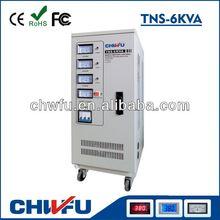 3 phase 6000va servo motor control voltage stabilization