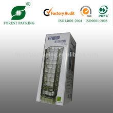 CUSTOM MADE CARDBOARD BOX PACKAGING FOR GLASS VASE