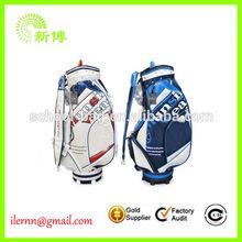 Fashion cotton cute PU coated golf shoe bags