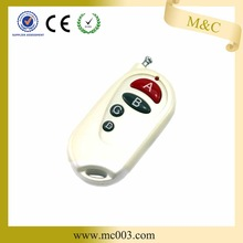 ABCD 4 keys white N in one use in all kinds area universal learning code remote control