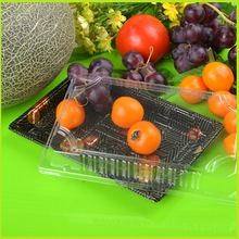 New design stackable plastic tray