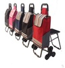 practical colorful convenient foldable shopping cart with wheel chair