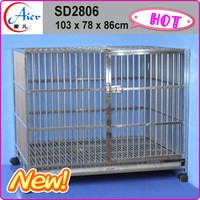 cost cheap metal dog cage dog kennel cage stainless steel cages