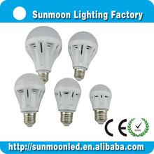 3w 5w 7w 9w 12w e27 b22 ce rohs low price bulb round smd led pcb