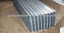Ondulé acier clôture feuille / métal de zinc