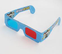 2014 new arrival hot selling custom printing foldable 3d glasses carton