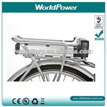 Rear Rack e-bike battery pack Lithium ion electric Bicycle batteries 24V 10Ah electric vehicle Li-ion akku