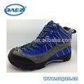 Forte vaca suede couro sapatos azul de trekking