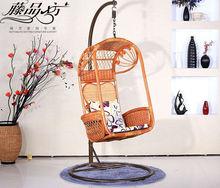 kapalı indonsian doğal rattan salıncak sandalye