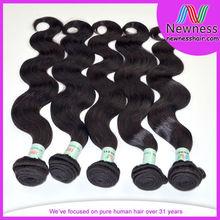 100% Real human remy indian virgin thai hair