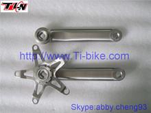 Titanium bike parts,titanium bicycle crank sets