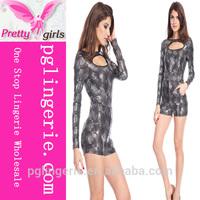 latex jumpsuit wholesale fro women,chiffon jumpsuits manufacturer, adult short jumpsuits