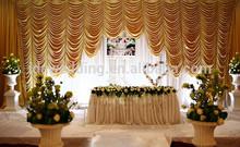 Purple Blossom Shower Drapes Bath Decoration Wedding Curtain
