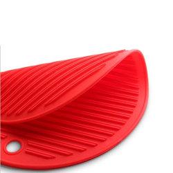 100%food-grade Soft silicone colored silicone coaster
