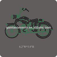 Motorcycle hotfix rhinestone transfer